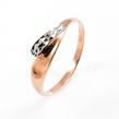 Auksinis moteriškas žiedas rodžiuotas Ž0276