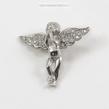 Sidabrinis pakabukas angeliukas