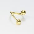 Geltono aukso auskaras į bambą A3128