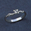 Sužadėtuvių žiedas su 0,20 ct deimantu KASZ 44