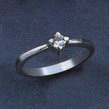 Sužadėtuvių žiedas su 0,20 ct deimantu KASZ 48