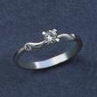 Sužadėtuvių žiedas su 0,25 ct deimantu KASZ 45