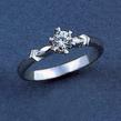 Sužadėtuvių žiedas su 0,35 ct deimantu KASZ 41