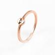 Auksinis moteriškas žiedas su cirkonio kristalais Ž0325