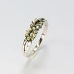 Moteriškas žiedas su cirkonio kristalais