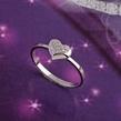 Sužadėtuvių Žiedas Širdelė 1,6 gr KASZ 5