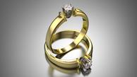 Sužadėtuvių žiedas su deimantu 0,10 ct KASZ 66