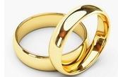 Klasikiniai Vestuviniai Žiedai geltono aukso 4 mm 8 gr KAV061