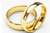 Klasikiniai Vestuviniai Žiedai geltono aukso 6 mm 12 gr KAV063