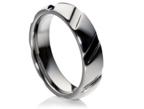 Vestuviniai Žiedai iš balto aukso 5 mm 10 gr KAV041