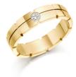Vestuviniai Žiedai su akmenuku moteriškame 6 mm 12 gr KAV045