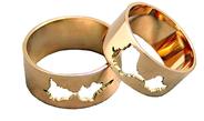 Meniški masyvūs Vestuviniai Žiedai 7 mm 17 gr KAV020