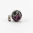Sidabrinis moteriškas pakabukas su swarovski kristalais