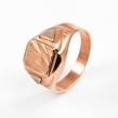 Auksinis vyriškas žiedas