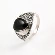Sidabrinis vyriškas žiedas